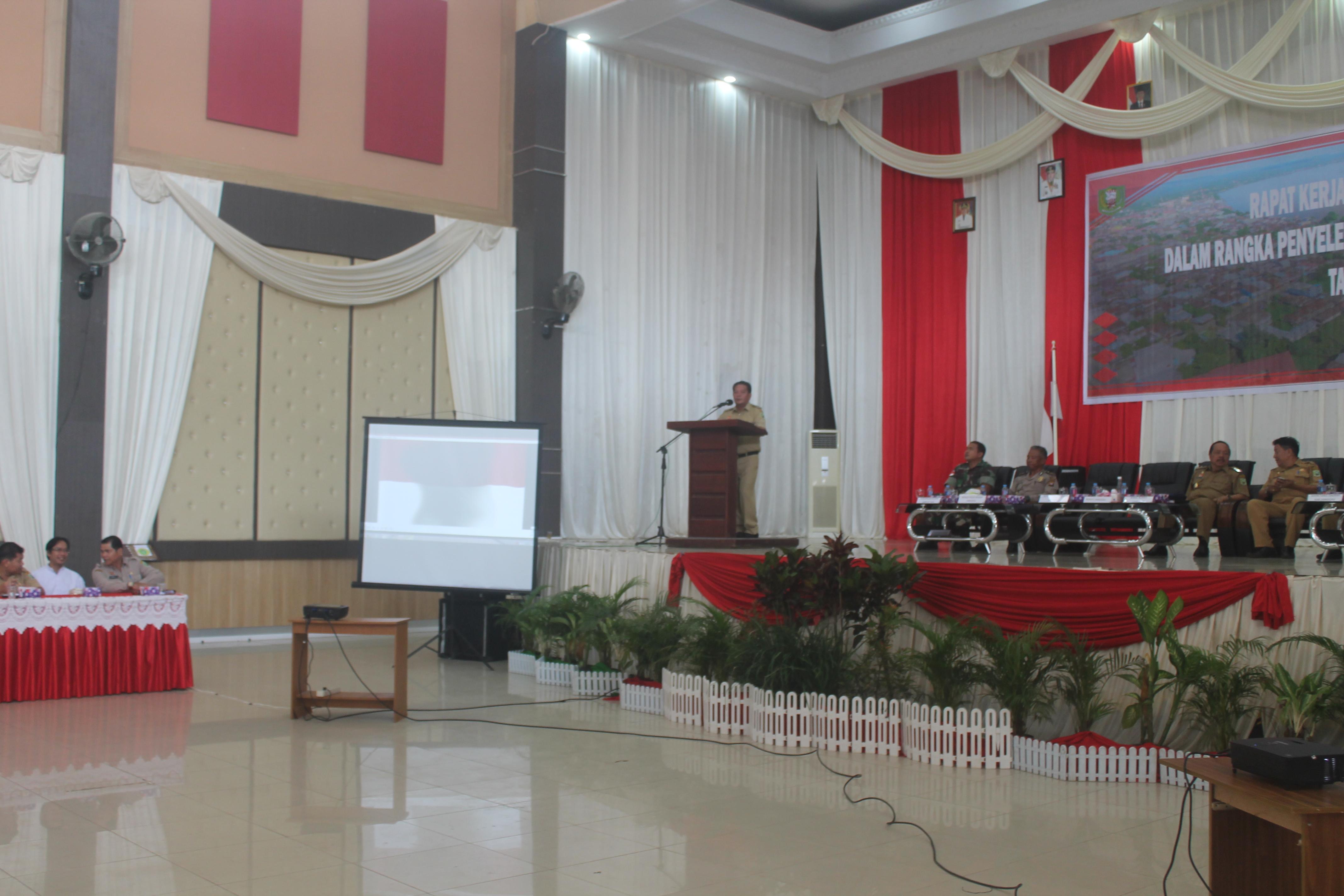 Rapat Kerja Kades, Lurah, BPD Dalam Rangka Penyelenggaraan Pemerintah Desa Tahun 2018