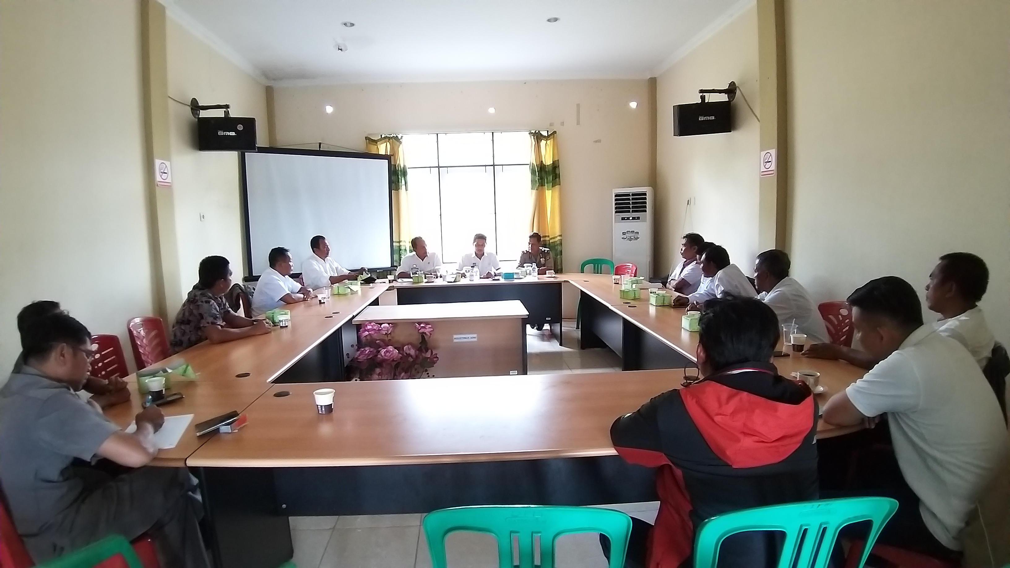 Mediasi Terkait Penyelenggaraan Pemdes, Desa Sungai Alai Kec. Kapuas