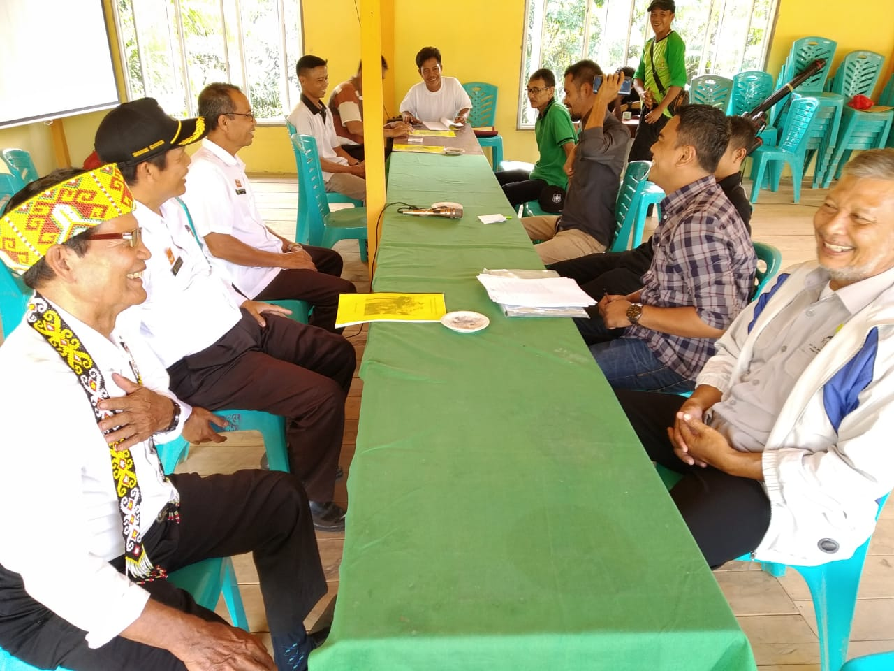 Identifikasi dan Iventarisasi MHA Ketemenggungan Sisang, Desa Lubuk Sabuk Kec. Sekayam