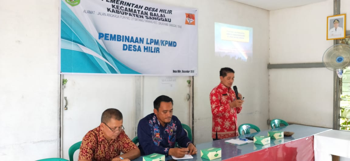 Peningkatan Kafasitas LPM, KPMD dan Peran Serta Pemuda dalam Pencegahan Peredaran Narkoba di Desa Hilir Kec. Balai