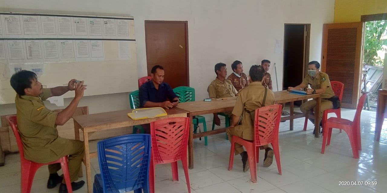 Sosialisasi Kegiatan Desa Fokus Tahun 2020 di Desa Kenaman Kec. Sekayam dan Desa Noyan Kec. Noyan
