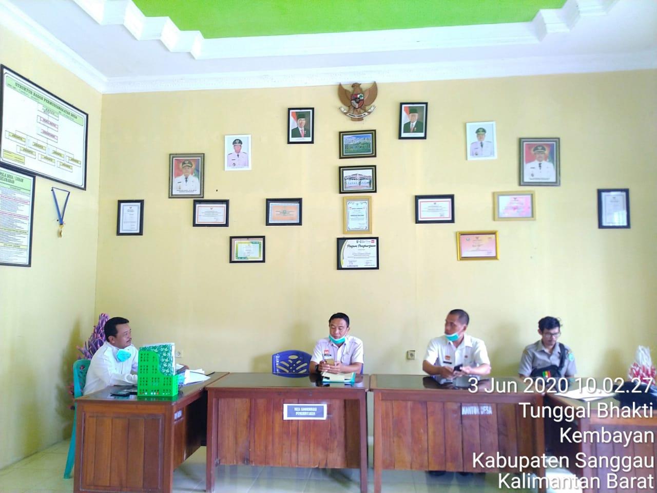 Verifikasi Lapangan IDM Kab. Sanggau Tahun 2020