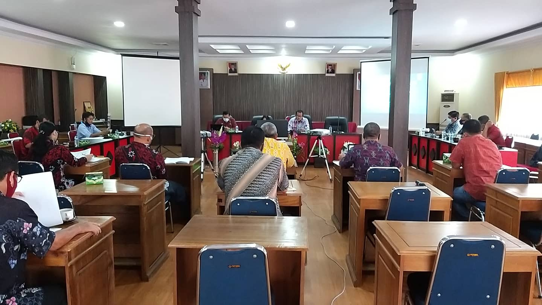 Rapat Koordinasi Tim Pembina dan Tim Sekretariat Program Desa Fokus Kabupaten Sanggau Tahun 2020