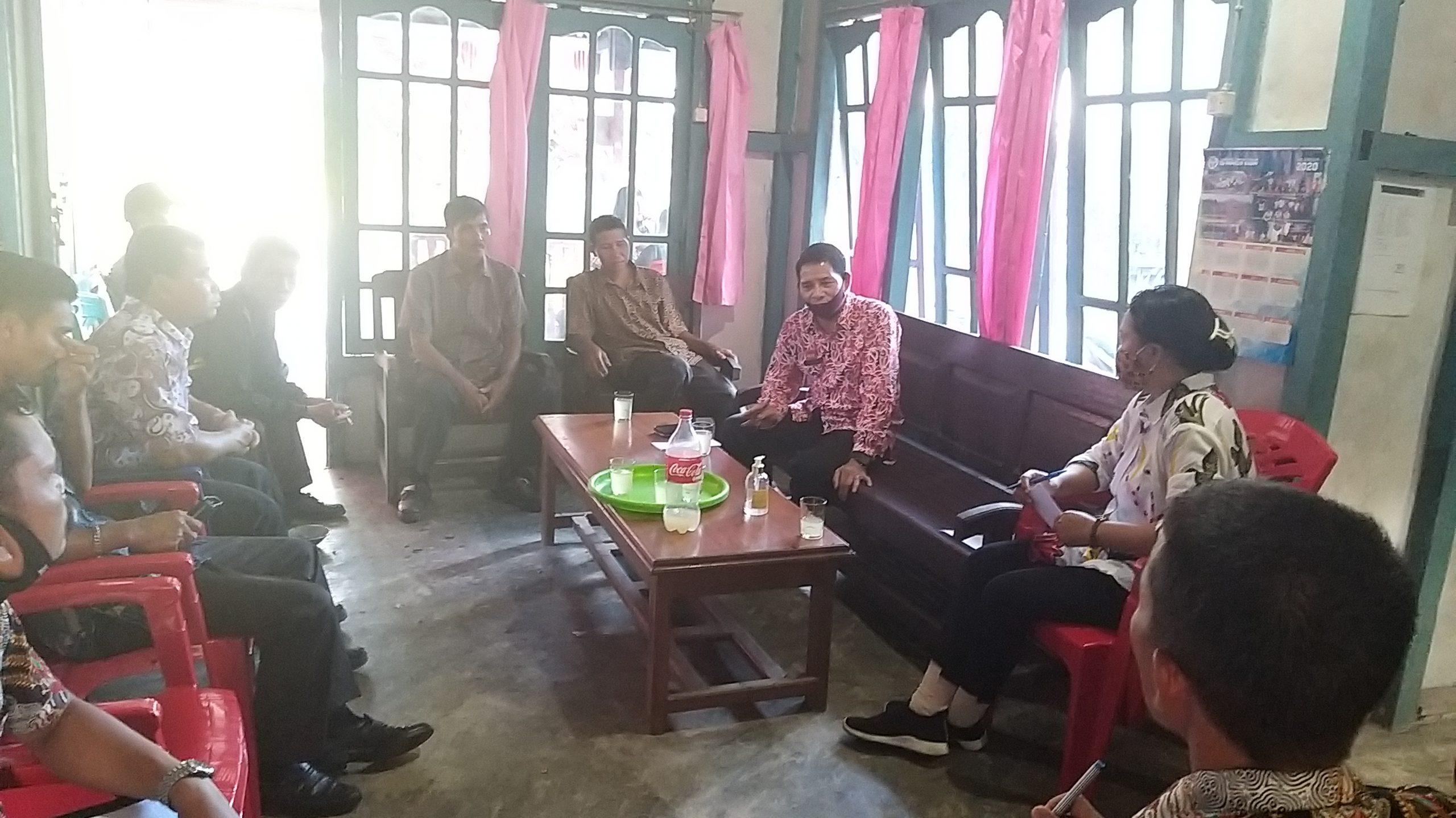 Pembinaan Aparatur Desa dan BPD Desa Pisang Kecamatan Jangkang