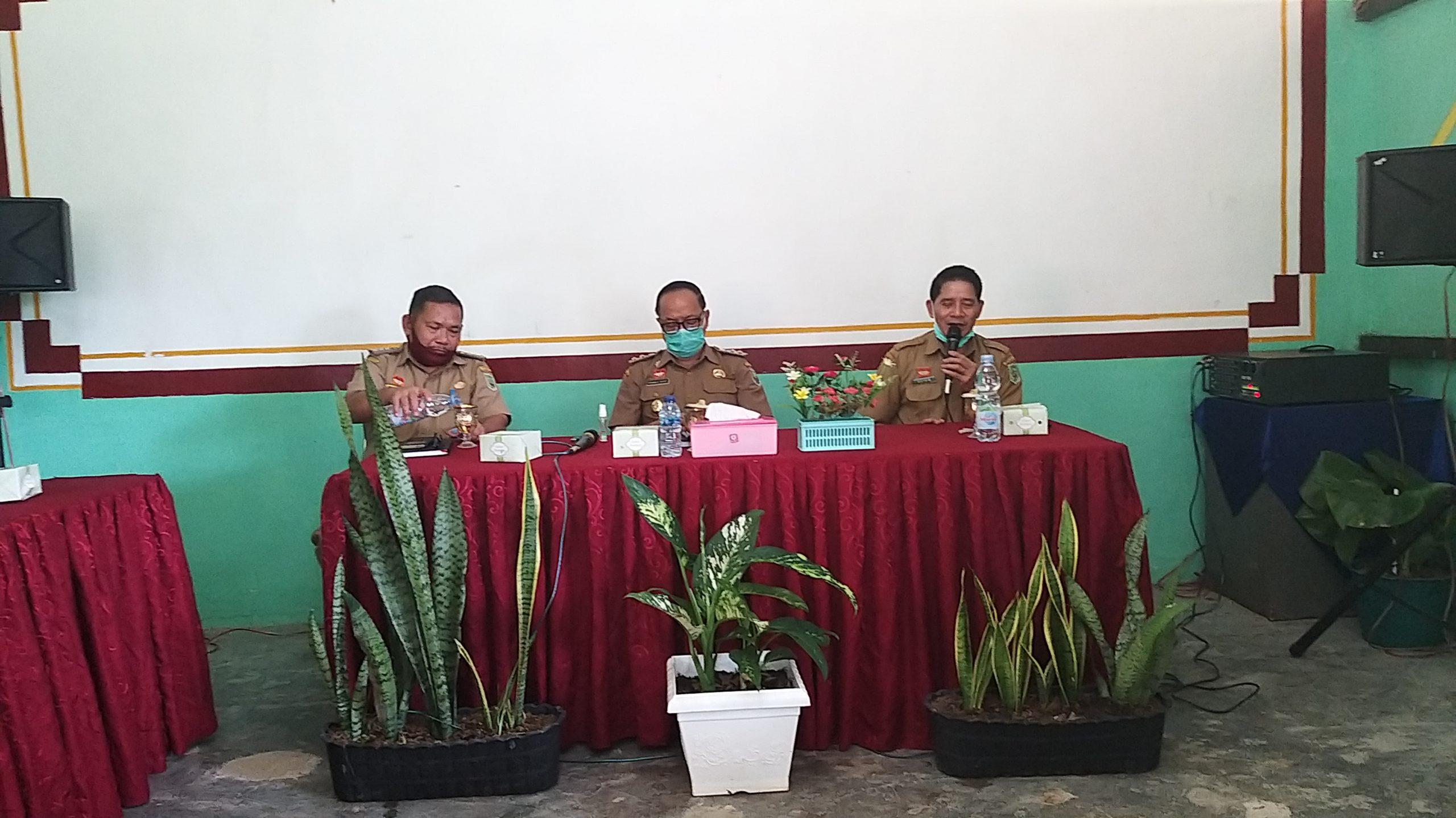 Rekonsiliasi Sisa Dana Desa Tahun Anggaran 2015-2019 Kecamatan Tayan Hilir dan Kecamatan Toba