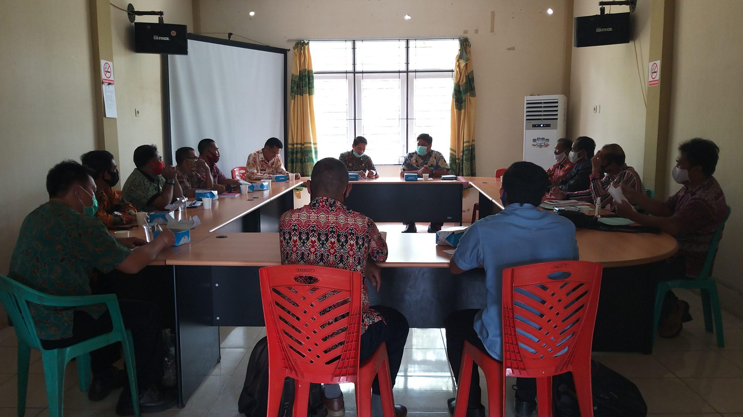 Rapat Usulan Masyarakat Hukum Adat (MHA) Mayao dan MHA Sami