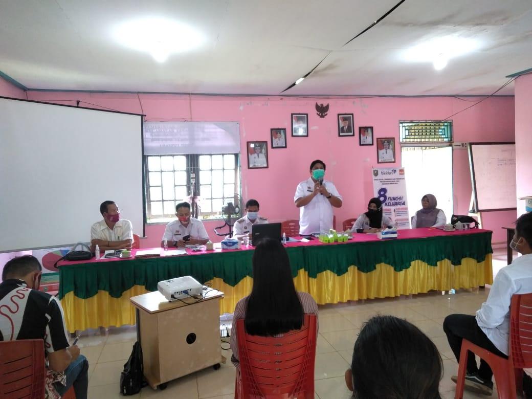 Pemdes Desa Subah Kecamatan Tayan Hilir  Menggelar Sosialisasi Pembentukan Bumdes
